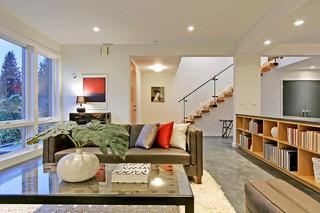 美式风格三层半别墅别墅豪华2013年客厅设计图纸