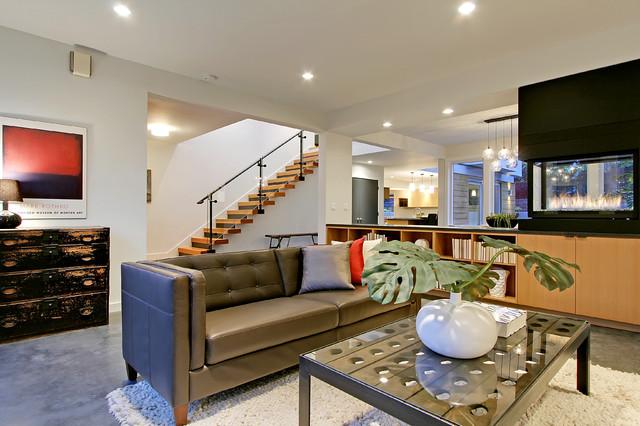 美式风格客厅三层连体别墅别墅豪华欧式客厅装修效果图
