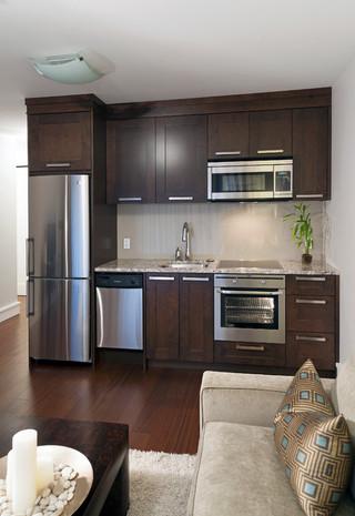 新古典风格3层别墅大气2014整体厨房装修效果图