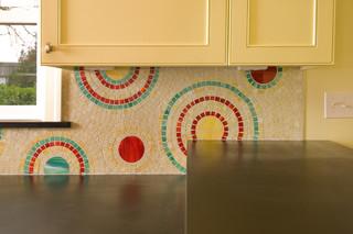 亮朱红与柠檬黄的跃动 宜家糖果风装修设计作品
