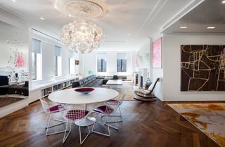 欧式风格卧室3层别墅艺术中式餐厅设计