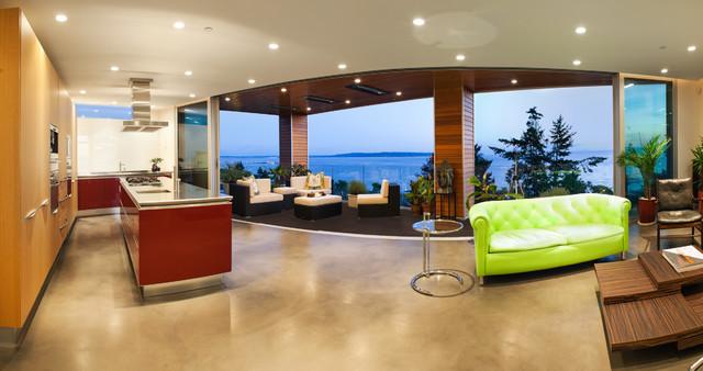 美式风格卧室三层别墅及艺术2013客厅窗帘装修效果图
