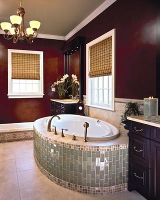 新古典风格300平别墅唯美咖啡色效果图