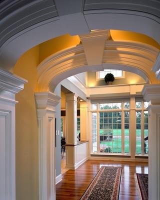 地中海风格2013别墅及浪漫婚房布置米黄色调墙壁装修效果图