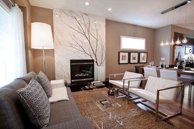 新古典风格卧室三层平顶别墅豪华别墅简约欧式客厅设计