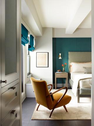 宜家风格客厅单身公寓厨房浪漫婚房布置白色室内装修效果图