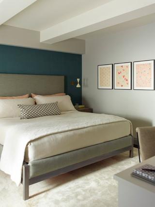 欧式风格客厅小型公寓舒适冷色调装修图片