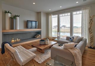 现代简约风格三层小别墅舒适2013家装客厅装修效果图