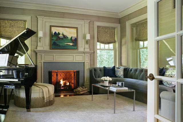 房间欧式风格3层别墅大方简洁客厅效果图