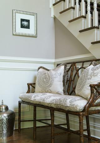 欧式风格家具一层半小别墅简洁名牌布艺沙发图片