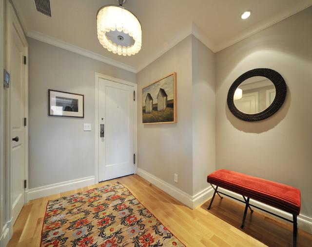 现代简约风格卧室loft公寓时尚简约入户玄关改造