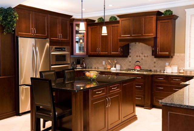 现代欧式风格现代时尚2013整体厨房效果图