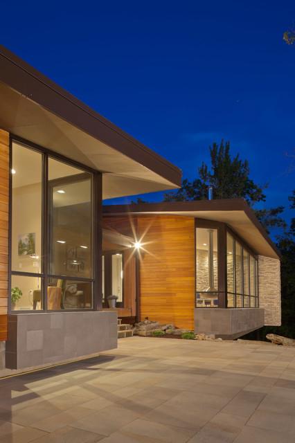 现代美式风格2013别墅平面图