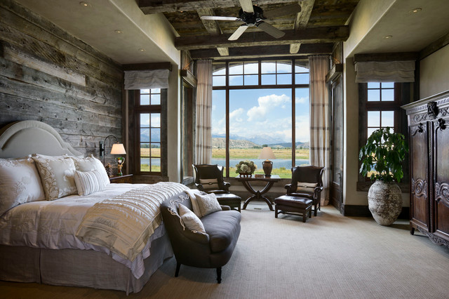 美式风格卧室三层双拼别墅简洁卧室10平卧室设计