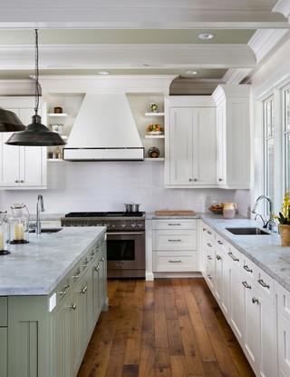 美式风格卧室一层半别墅阳台实用2012家装厨房效果图