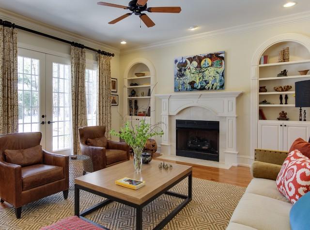 温馨装修效果图 宜家风格客厅一层别墅卧室温馨沙发背景墙装修图片