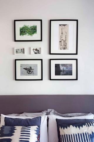 欧式风格酒店式公寓简单温馨中式客厅电视背景墙装修图片