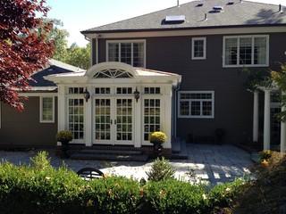 新古典风格客厅三层平顶别墅欧式豪华装修效果图