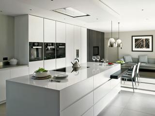 小户型简欧风格一层别墅及舒适2平米厨房设计