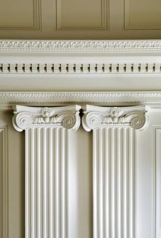 欧式风格家具三层平顶别墅家装图片