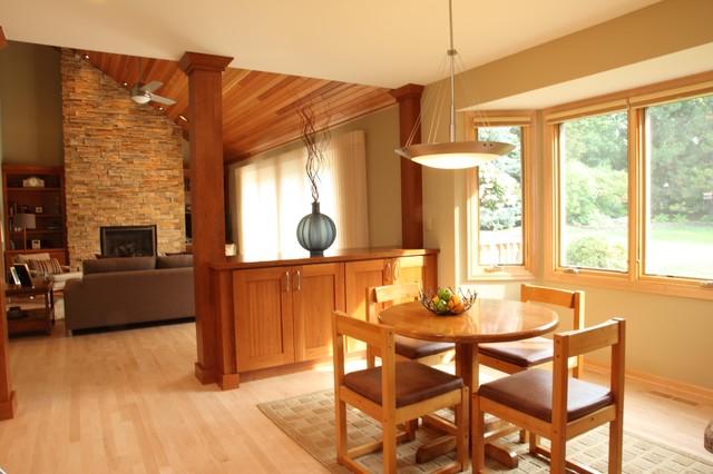 现代简约风格卧室三层别墅开放式厨房客厅装修图片图片