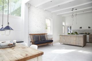 现代简约风格厨房一层别墅及家装图