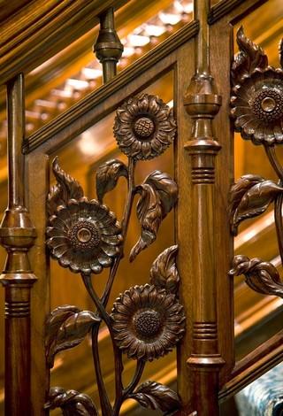 新古典风格卧室300平别墅欧式奢华原木色家居装修效果图