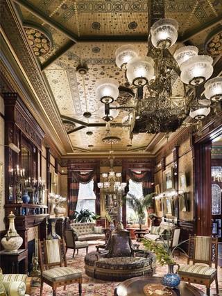 新古典风格卧室3层别墅欧式奢华2012客厅装修