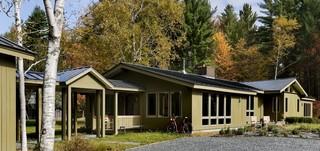 美式乡村风格一层别墅舒适装修效果图