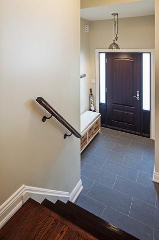 现代简约风格餐厅2013别墅及现代简洁门厅鞋柜设计
