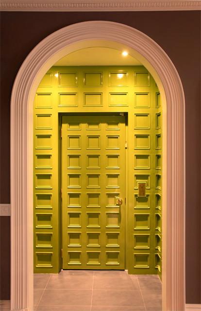 新古典风格卧室2014年别墅米黄色效果图