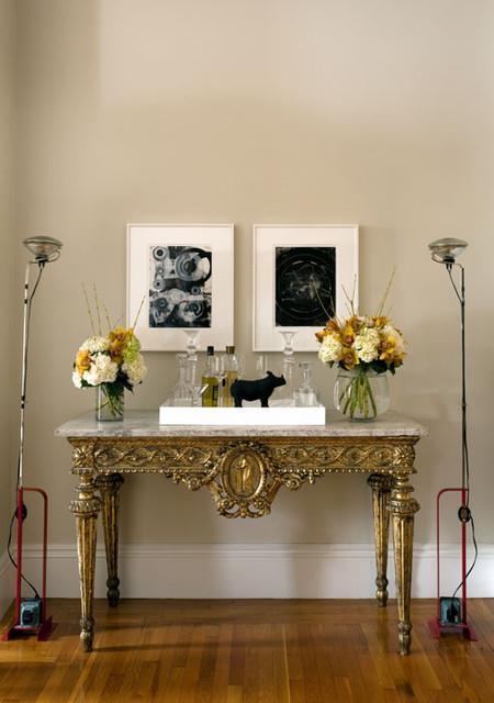 新古典风格卧室一层别墅平面图