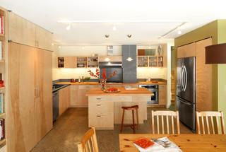 现代简约风格客厅2014年别墅梦幻家具开放式厨房客厅设计