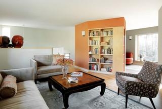 现代简约风格厨房3层别墅梦幻家具2012客厅设计