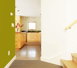 现代简约风格2层别墅梦幻小户型开放式厨房设计图纸