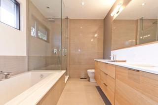 现代简约风格卫生间一层别墅及客厅简洁主卫改衣帽间设计图纸