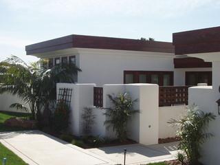 现代简约风格三层独栋别墅简洁卧室白色简欧风格效果图