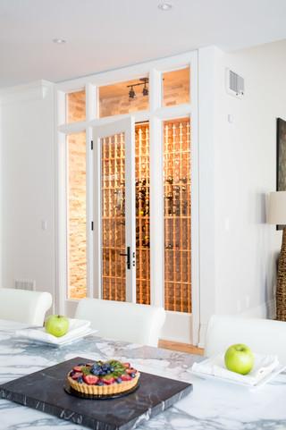 现代简约风格客厅一层别墅稳重白色欧式家具效果图