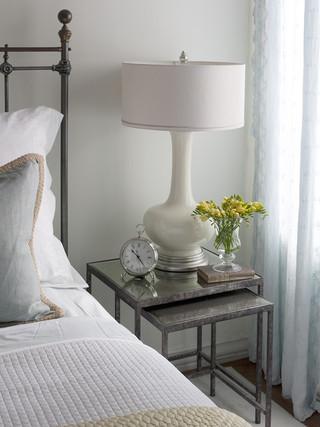 地中海风格2014年别墅实用卧室6平米卧室装修效果图