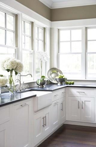 现代简约风格餐厅2014年别墅另类卧室开放式厨房装修效果图