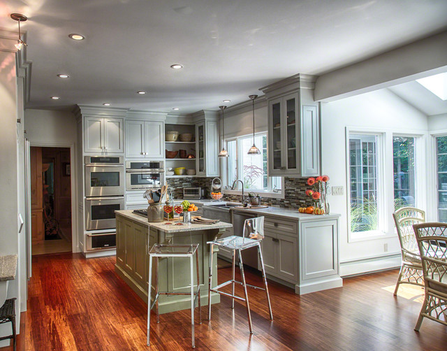 北欧风格卧室2层别墅唯美开放式厨房客厅设计图-您正在访问第10页