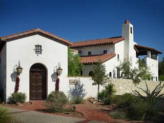 新古典风格客厅三层别墅及舒适白色欧式家具效果图