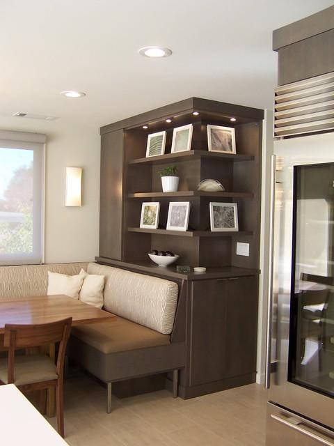 混搭风格三层独栋别墅简单温馨开放式书房改造