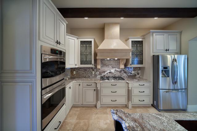 混搭风格客厅2013别墅及现代奢华欧式开放式厨房设计