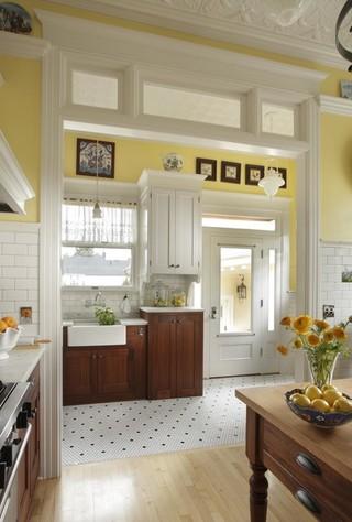现代简约风格客厅三层小别墅豪华房子欧式开放式厨房设计图纸