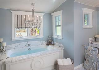房间欧式风格300平别墅浪漫婚房布置主卫改衣帽间装修效果图