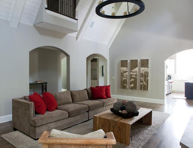 北欧风格客厅2013年别墅小清新2014客厅吊顶设计图