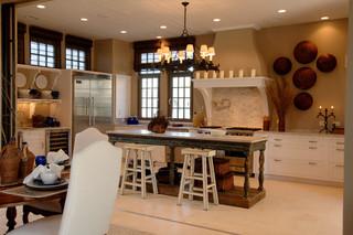 欧式风格三层连体别墅低调奢华装修图片