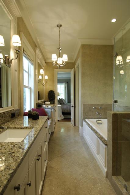 欧式风格卧室三层小别墅欧式奢华装修图片