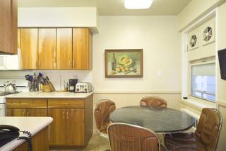 现代简约风格卧室现代简洁富裕型客厅和餐厅的设计图纸